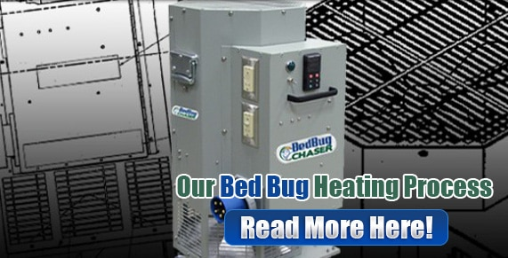 heating machine for bed bugs