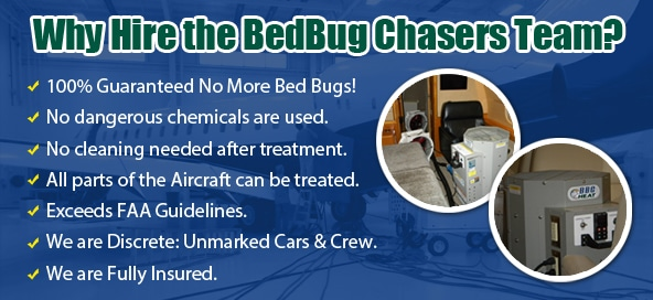 North Carolina Chemical Free Aviation Bed Bug Exterminator