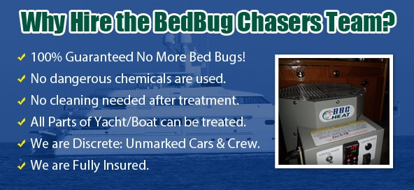 Your #1 Solution Best Yacht & Charter Boat Bed Bug Treatments in North Carolina